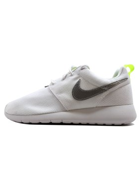 66a6684d832f Product Image Nike Grade-School Roshe One 1 White Metallic Silver-Volt  599729-101