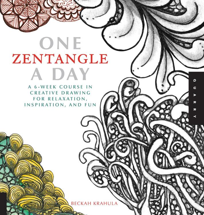 One a Day: One Zentangle a Day: A 6-Week Course in Creative Drawing for Relaxation, Inspiration, and Fun (Paperback)