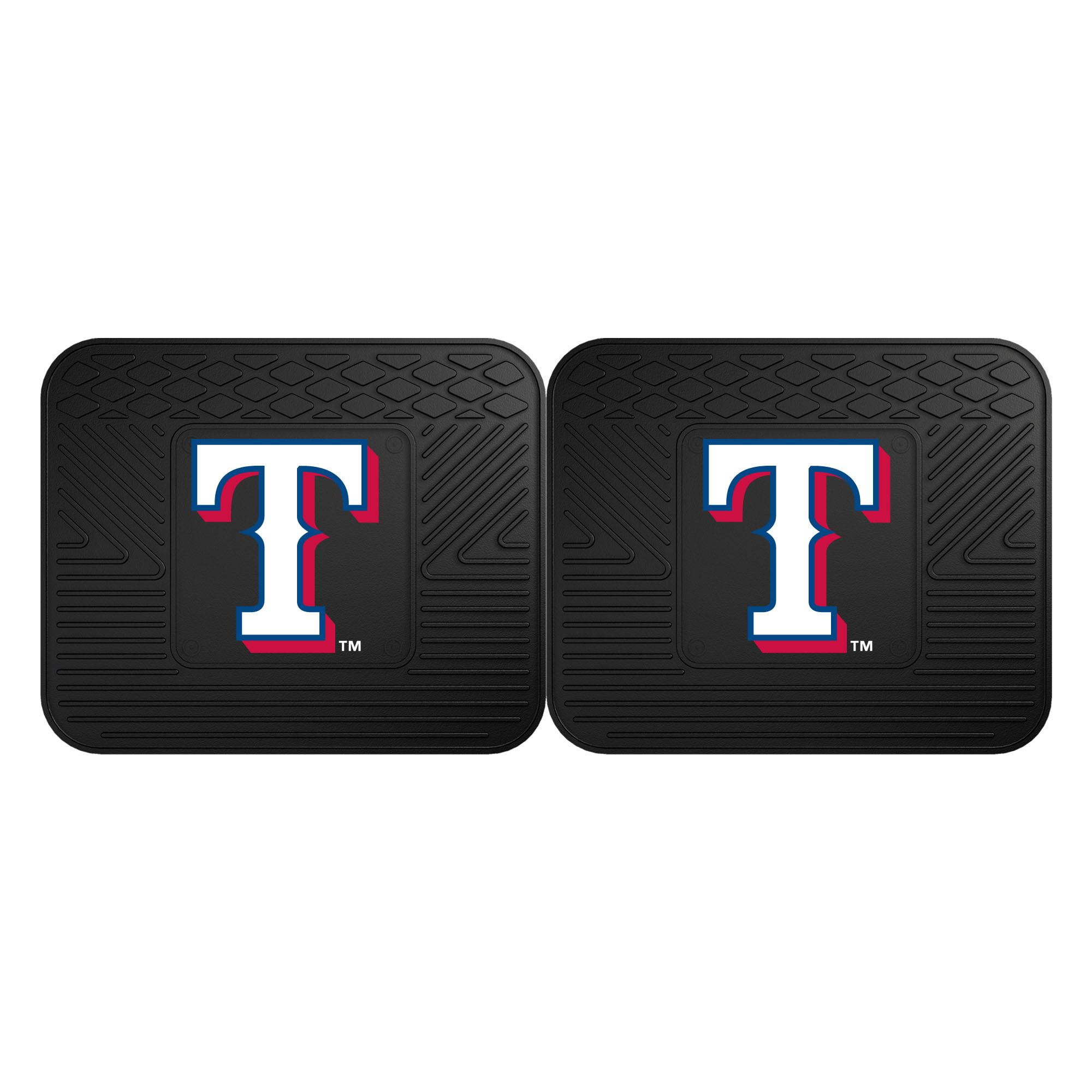"Texas Rangers 2-pc Utility Mat 14""x17"""