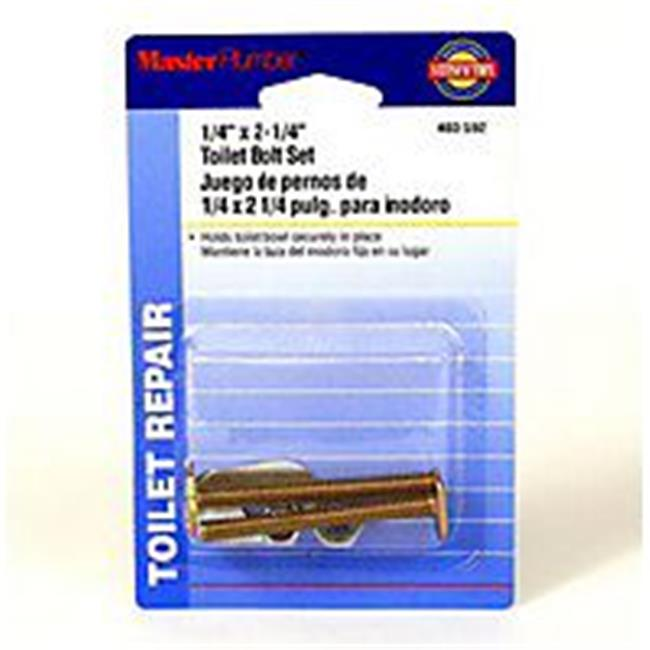 Plumb Shop Div Brasscraft 403592 Master Plumber 0.25 x 2.25 in. Toilet Bolt - image 1 de 1