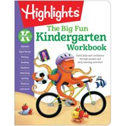 The Big Fun Kindergarten Workbook: Build Skills and Confidence Through Puzzles and Early Learning Activities! (Paperback)