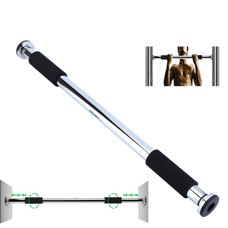 250lbs 60-100cm Adjustable Pull-Up Bar, Portable Workout Gym Exercise Doorway Pull Up Chin Up Bars Home Fitness US STOCK