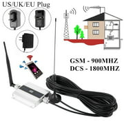 Willstar GSM 900MHz /DCS 1800MHz 2G/3G/4G Signal Booster Repeater Amplifier Antenna for Cell Phone