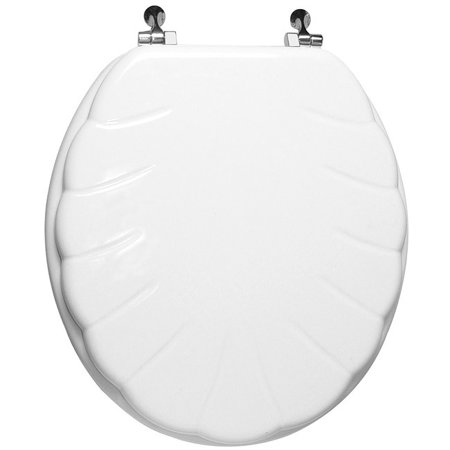 Wood Toilet Seat Walmart.Trimmer Engraved Shell Design Wood Toilet Seat