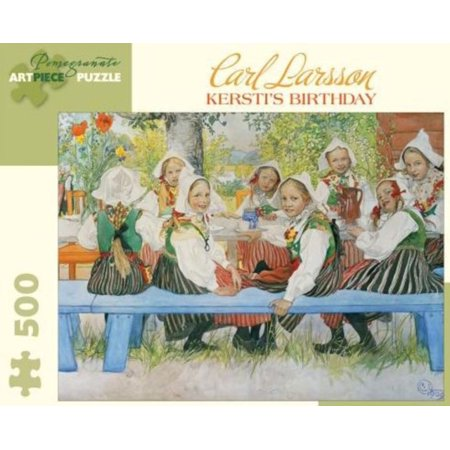 Carl Larrson Kerstis Birthday 500 Piece
