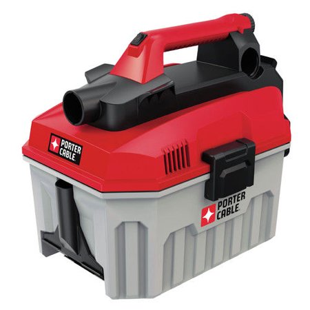 PORTER CABLE PCC795B 20V MAX Lithium-Ion 2 Gallon Wet/Dry Vacuum (Bare Tool / Battery Sold