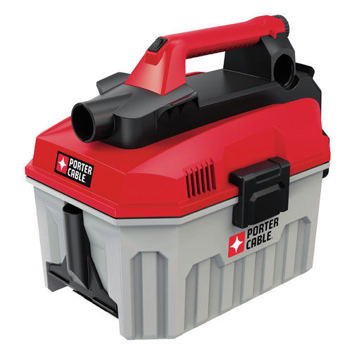PORTER CABLE PCC795B 20V MAX Lithium-Ion 2 Gallon Wet/Dry Vacuum (Bare Tool / Battery Sold Seperately)
