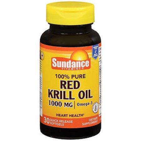 Sundance Vitamins Red Krill Oil 1000mg - 30