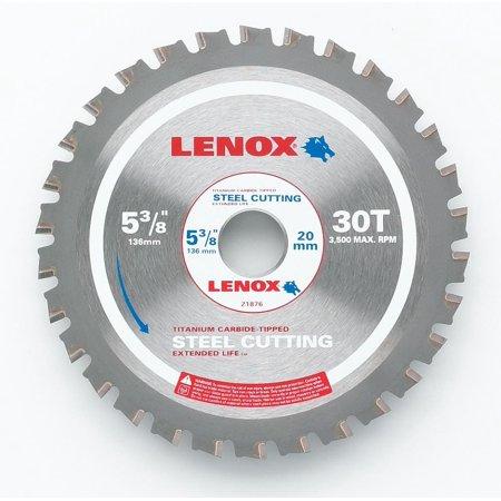 Lenox-21876 5-3/8 In. (135 mm) 30 TPI Steel Cutting Circular Saw Blade Steel Cutting Circular Saw Blade