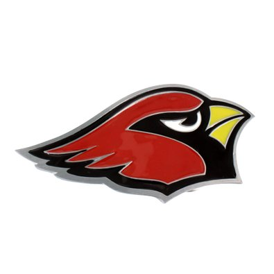 Arizona Cardinals Belt Buckle NFL Football League Mens White Gold Tone Designer by