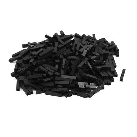 360 Pcs Black Plastic 1 Terminal Female 2 54mm Pitch Car Auto Psu