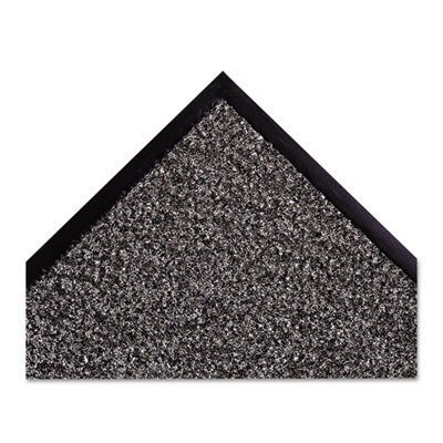 crown ds 0310ch dust star carpet mat, pre cut size, 3' x 10', charcoal