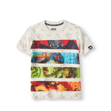 07391aac3 How To Train Your Dragon - Short Sleeve Character Tee (Little Boys & Big  Boys) - Walmart.com