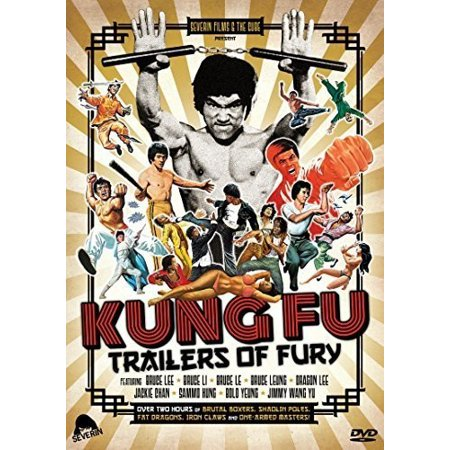 Kung Fu Trailers of Fury (DVD)