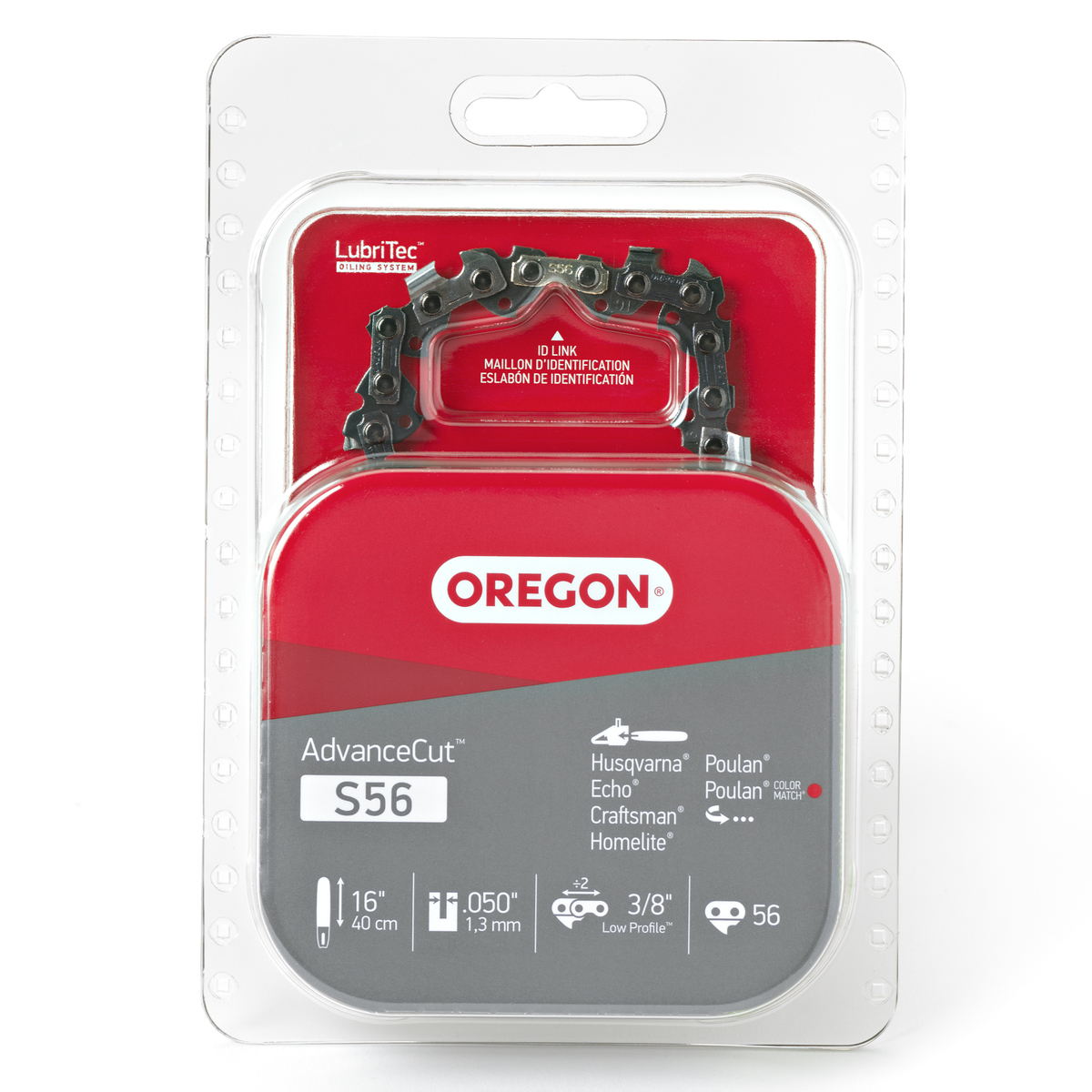 Oregon S56 AdvanceCut™ Saw Chain, 16""