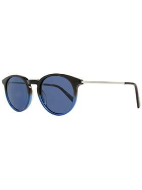 ea0891f7c2 Product Image Montblanc Round Sunglasses MB549S 56V Dark Havana Blue 549