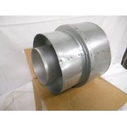 "Twist Lock Vent Pipe Reducer - 5"" x 8"" to 4"" x 7"""