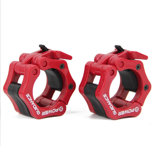 "POWER GUIDANCE Weightlifting Barbell Clamp Collar - Quick Release Pair of Locking 2"" Olympic Bar - Great for Weightlifting"