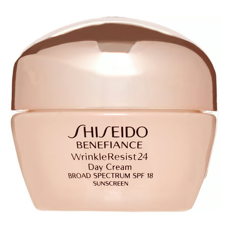 Shiseido Benefiance WrinkleResist 24 Day Cream Broad Spectrum SPF 18 for Unisex, 1.8