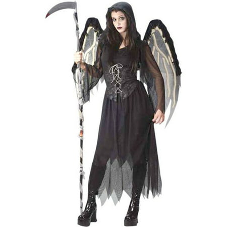 Teen Gothic Angel Costume