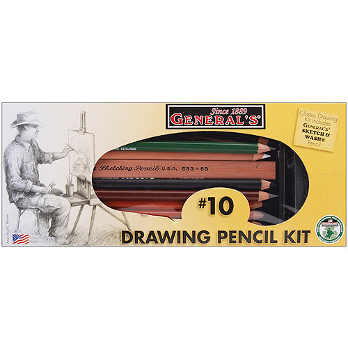 General Pencil Classic Drawing & Sketching Kit