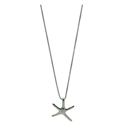 Sterling silver starfish pendant necklace 16 inch walmart sterling silver starfish pendant necklace 16 inch aloadofball Choice Image