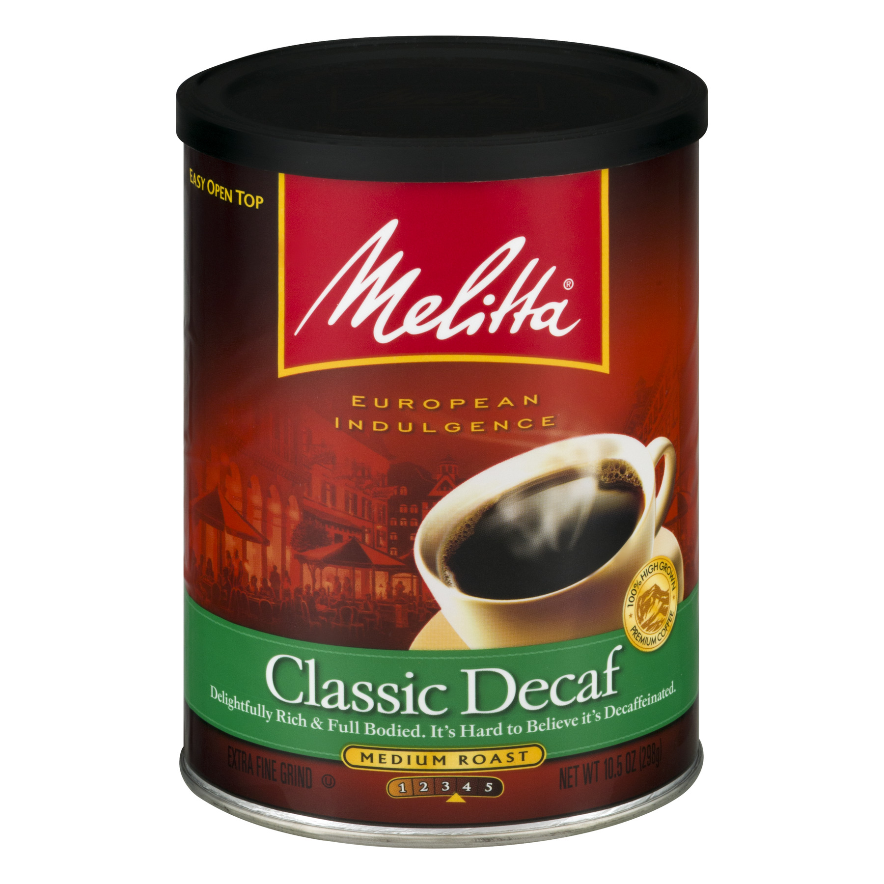 Classic Decaf Can Coffee, 10.5 oz