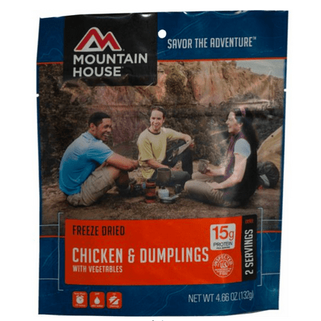 Mountain House Chicken and Dumplings with