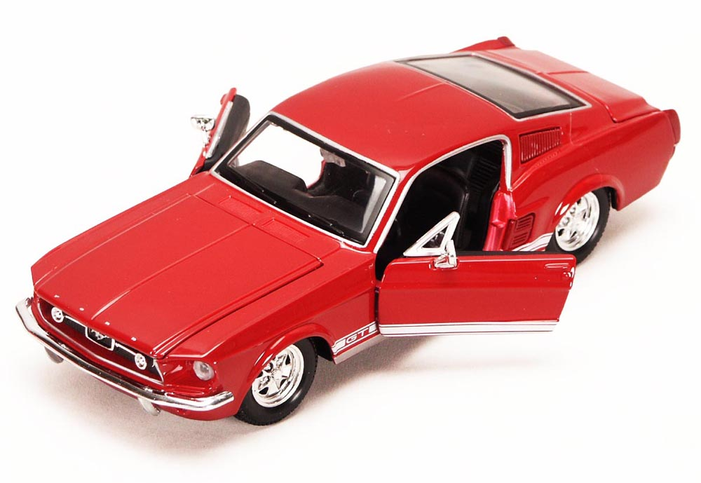1967 Ford Mustang GT-500, Red Maisto 34260 1 24 Scale Diecast Model Toy Car (Brand but NOT... by Maisto