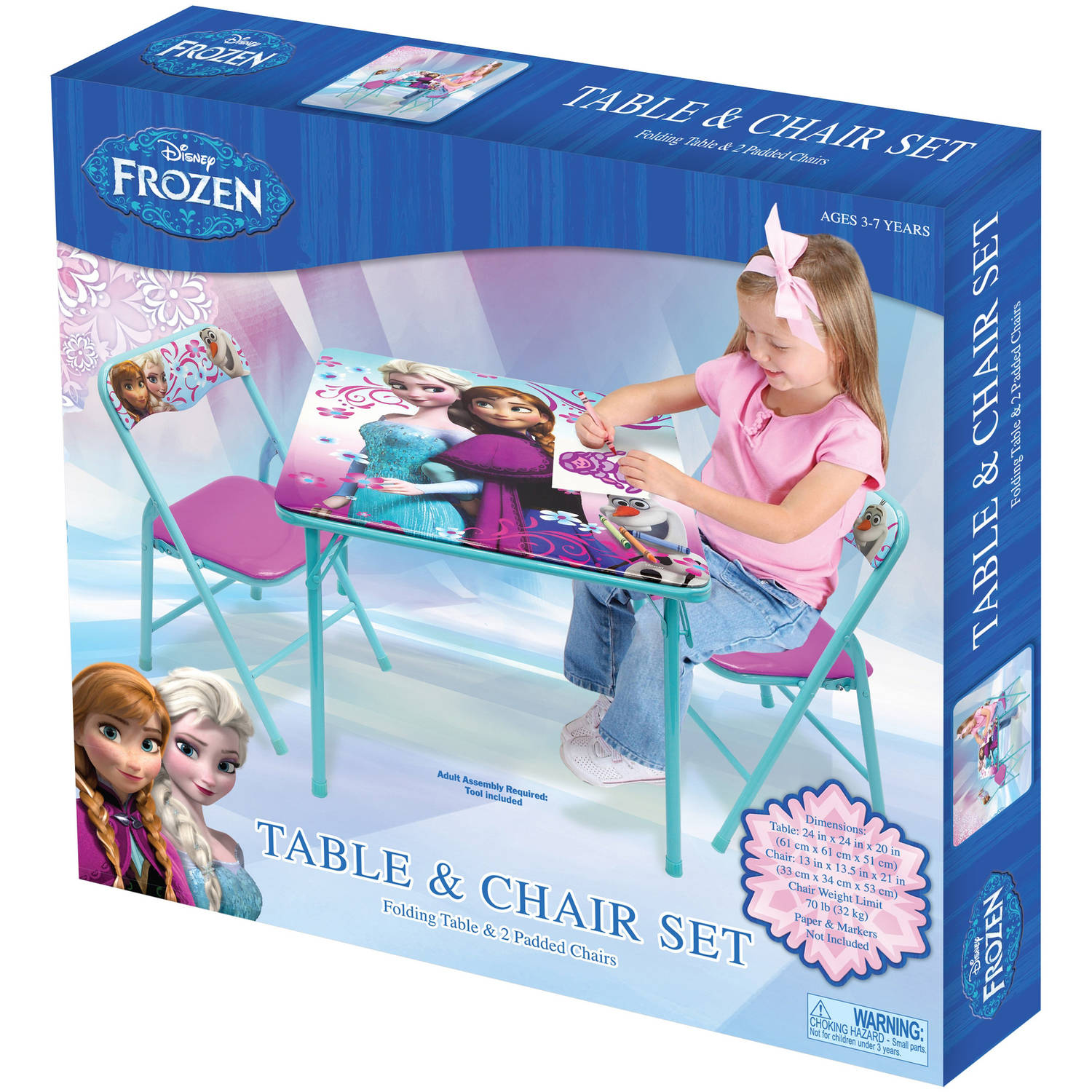 Charmant Disney Frozen Activity Table Set   Walmart.com