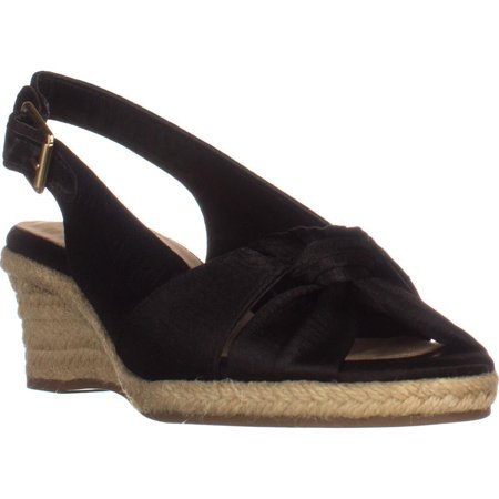 1294a743514 Womens Bella Vita Seraphina II Espadrille Wedge Sandals, Black