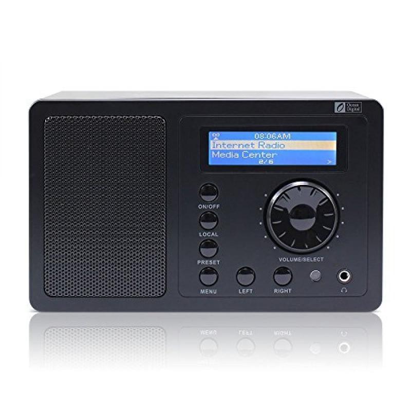 Ocean Digital Internet Radio WR220BP with Built-in Batter...