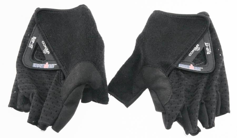 Spenco IronMan Rip-It T.2 Elite Purple//Black Fingerless Cycling Gloves Sizes NEW
