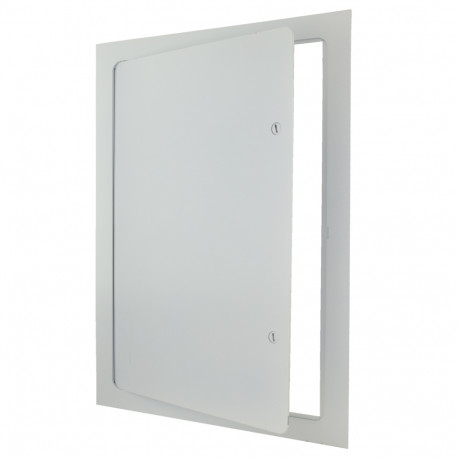 """Steel Rounded Corners Details about  /12/"""" x 18/"""" Universal Flush Access Door"""