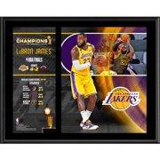 "LeBron James Los Angeles Lakers 12"" x 15"" 2020 NBA Finals Champion Sublimated Player Plaque"