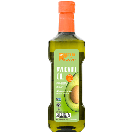 Better Body Foods Pure Avocado Oil, 16.9 oz (Best Oil For Actifry)