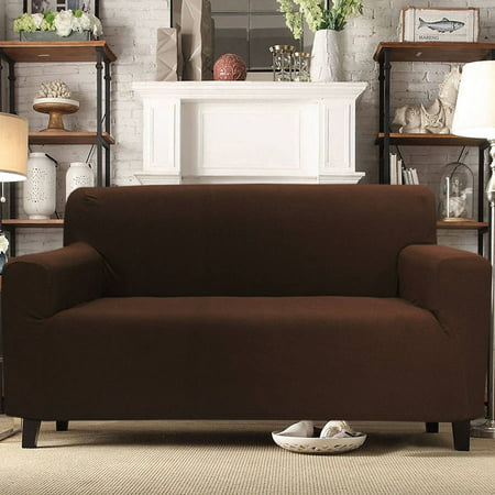 Sally Form Fit 4-Way Stretch Furniture Slipcover Sofa ...