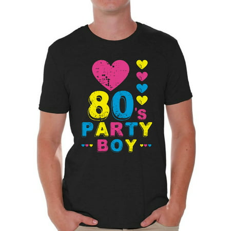 Awkward Styles 80s Party Boy Shirt 80s Boy Shirt 80s Boy Costume 80s Outfit I Love the 80s Shirt Men's 80s Accessories 80s T Shirt Vintage Rock Concert T-Shirt 80s - Boy Love Boy