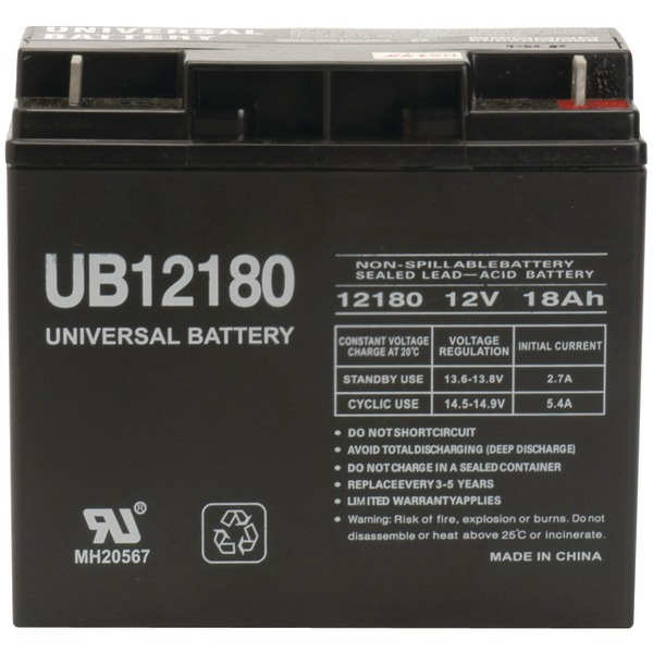 UPG 85977/D5745 Sealed Lead Acid Batteries (12V; 18 AH; UB12180)