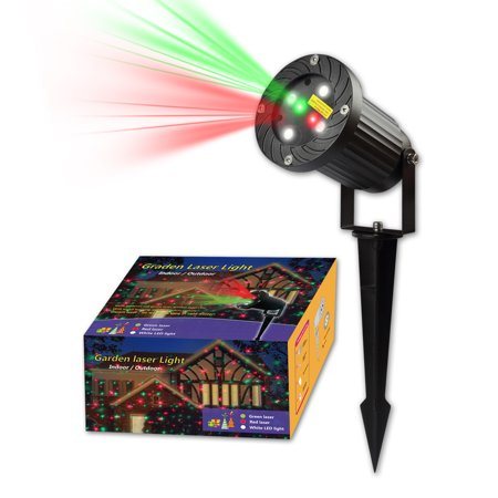 Halloween Christmas Lights Projector Outdoor Lawn Laser Waterproof IP65 Light Aluminium Projector Spotlight Yard lights Decoration Moving Red Green White 12 Patterns Multi-Function RF Control (Best Lawn Mowing Patterns)