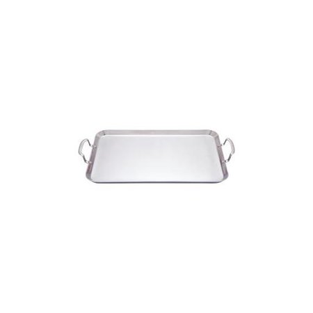 Maxam 5-Ply Stainless Steel Double Griddle