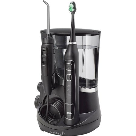 Waterpik Complete Care 5 0 Water Flosser   Toothbrush Wp 862  Black