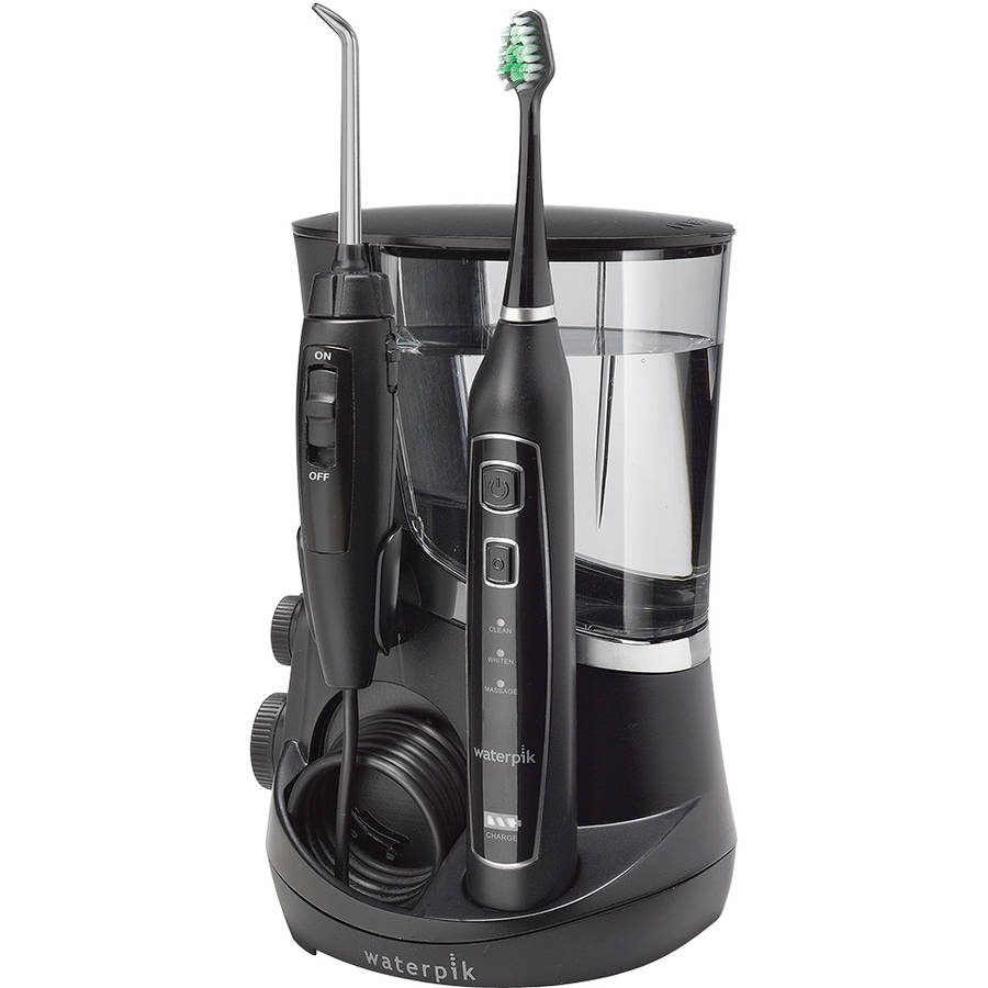 Waterpik Complete Care 5.0 Water Flosser + Toothbrush WP-862, Black