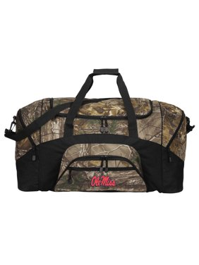 bcb259670c Product Image Broad Bay Camo University of Mississippi Duffle Bag Or  RealTree Camo Ole Miss Gym Bag
