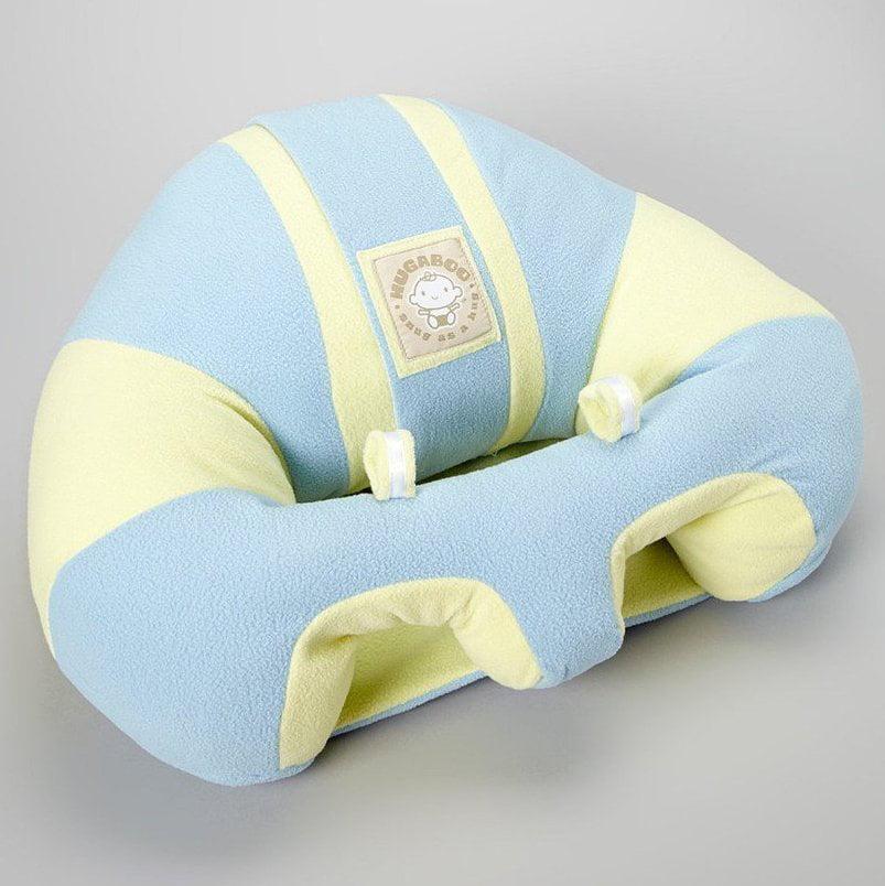 Hugaboo Infant Sitting Chair - Blue Chevron