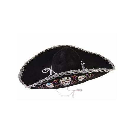 Halloween Day Of The Dead Deluxe - Sombreros De Brujas Para Halloween