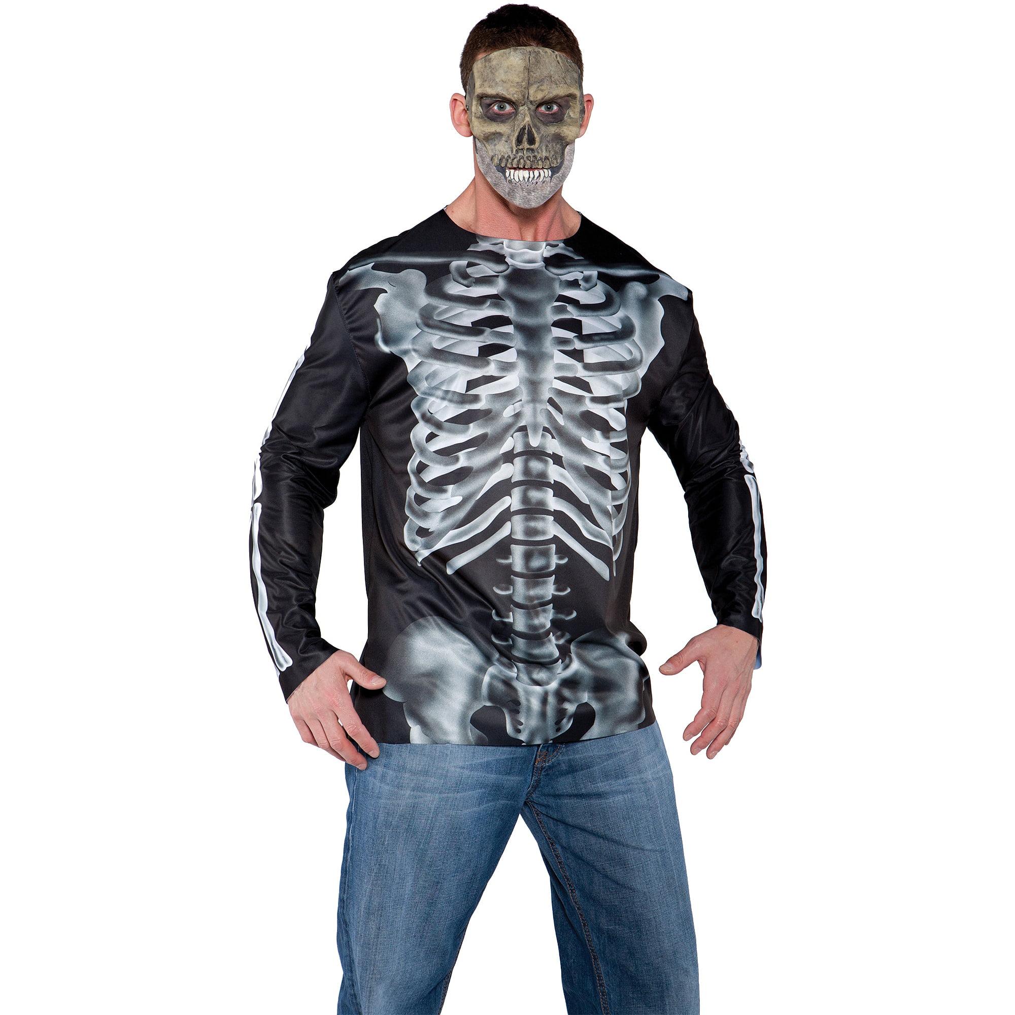 Photo-Real X-Ray Shirt Adult Halloween Costume