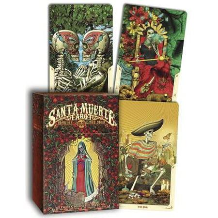Santa Muerte Tarot Deck : Book of the Dead](The Halloween Tarot Deck And Book Set)