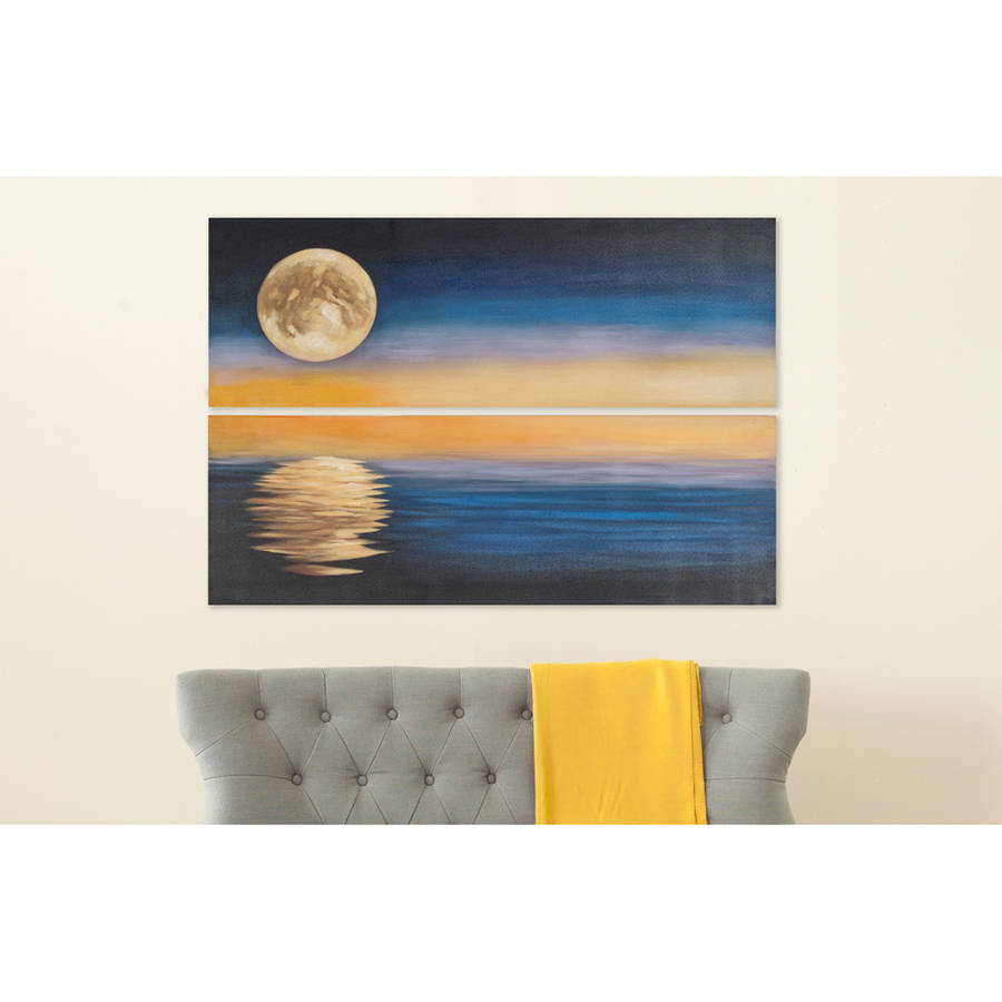 Safavieh Moonscape Diptych Wall Art, Assorted