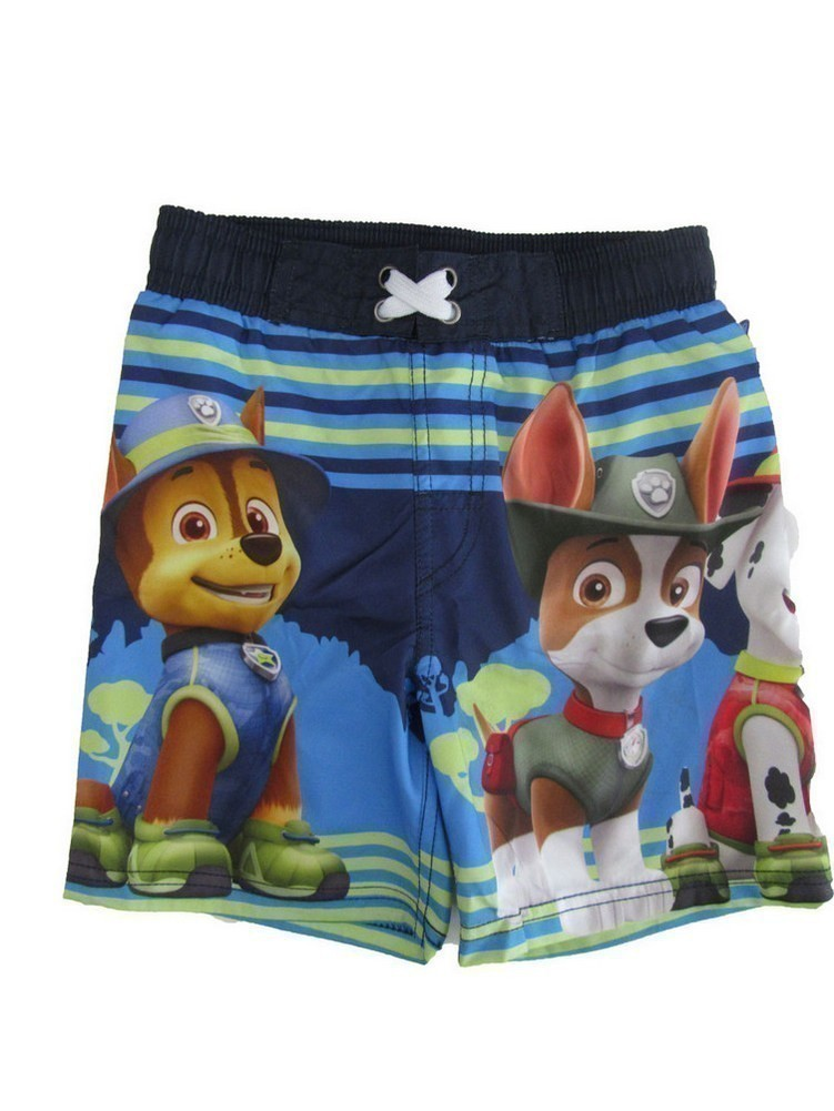Nickelodeon Little Boys Blue Paw Patrol Swim Shorts